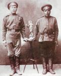 Рязанские новобранцы перед отправкой на фронт русско-японской войны. Фотография около 1904 года.