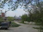 Вид на Екатерининскую церковь со стороны ул. Свободы