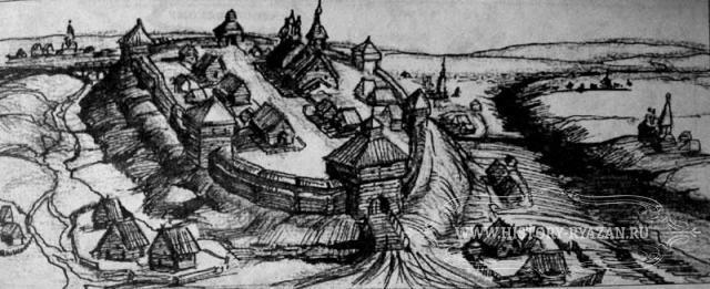 Крепость город михайлов хvi век