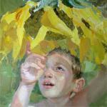 """Золотое семечко"", холст, масло, 2009 г."