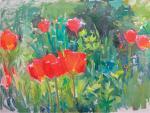 """""""Тюльпаны"""", холст, масло, 2005 г."""