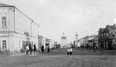 Соборная улица 1909г.