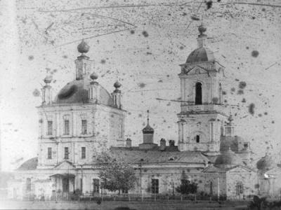 Город Сапожок, Успенский собор. Начпло 20-го века.