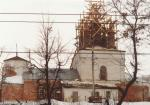 Восстановление церкви Благовещения Пресвятой Богородицы.